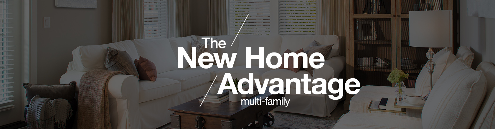 Single-Family New Home Advantage banner