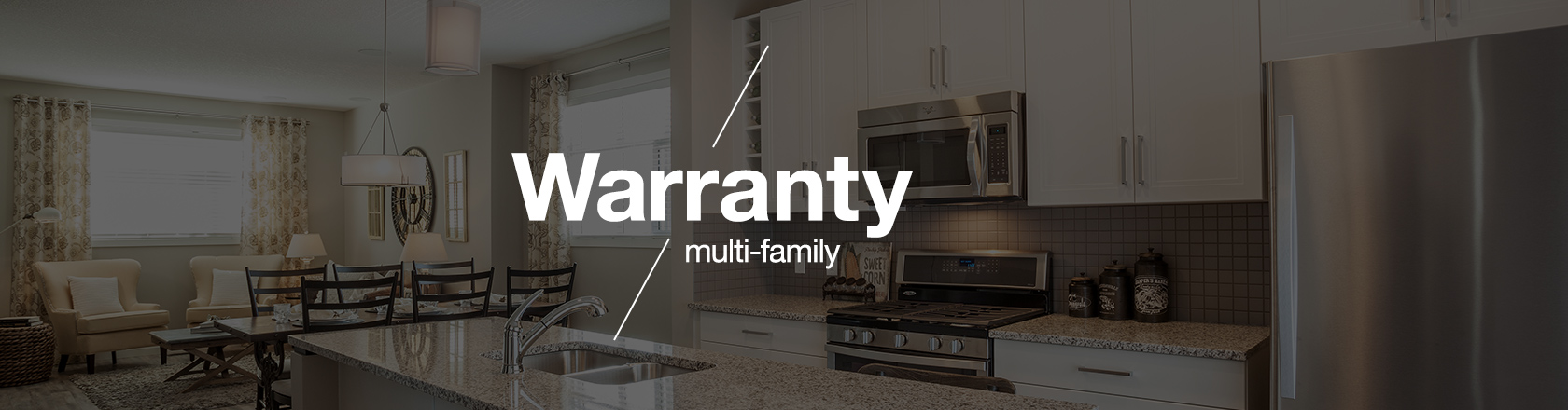 Multi-family Warranties banner