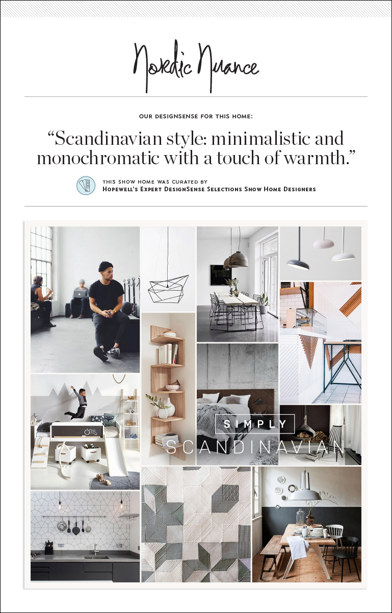 Nordic Nuance inspiration board