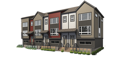 Townhomes rendering