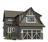 small rendering of Hopewell's Adero model - Traditional elevation