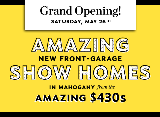 Hopewell Residential Mahogany Front Garage Grand Opening promo popup image