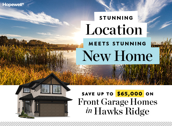 Hopewell Residential Save up to $65,000 on Front-Garage Home in Hawks Ridge popup graphic